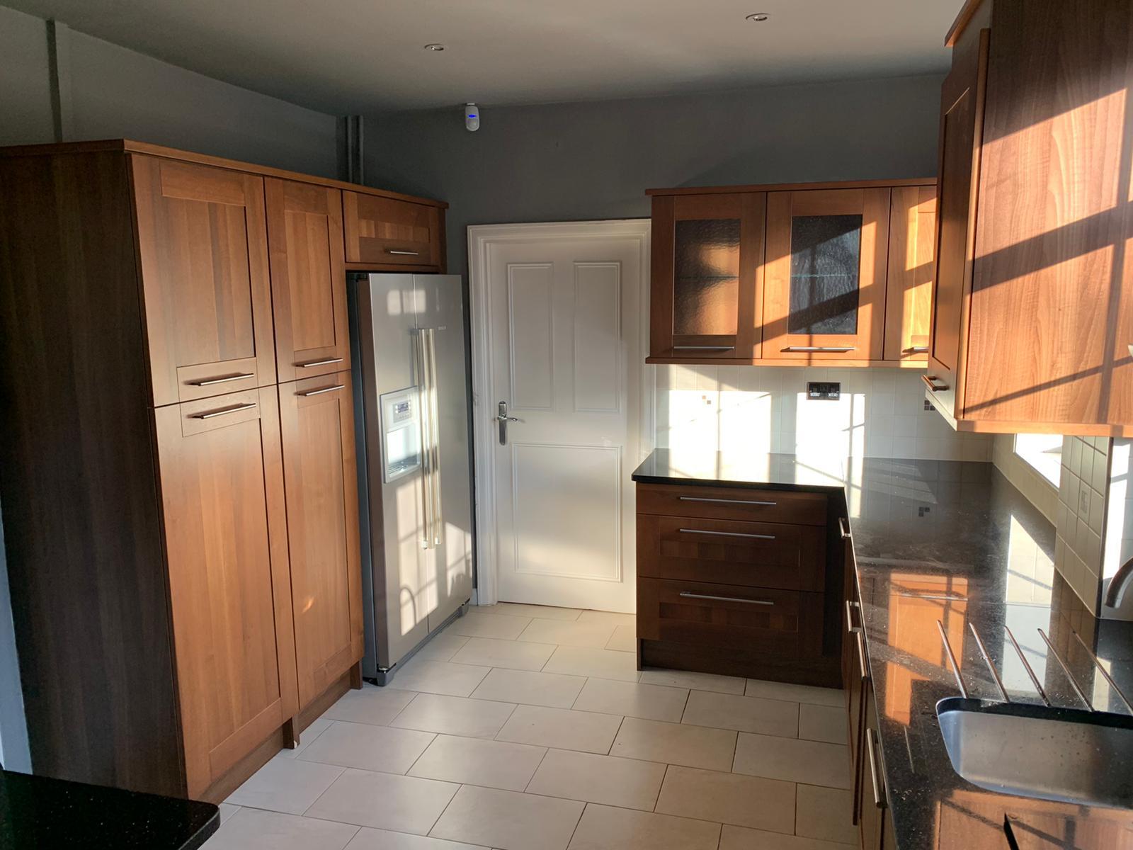 Respray cupboards and doors